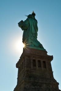 Statue sunburst