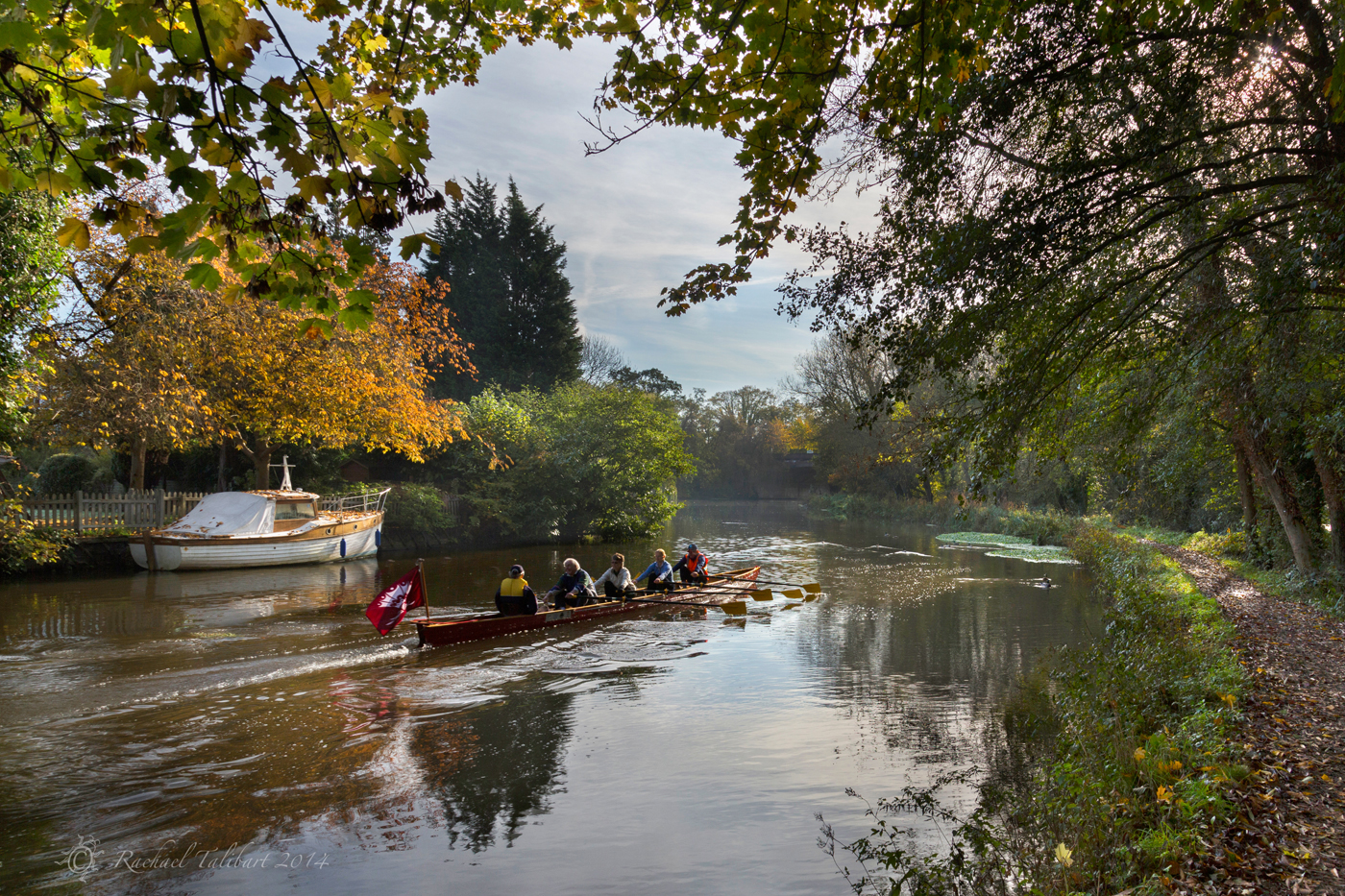 Wey Navigation rowers